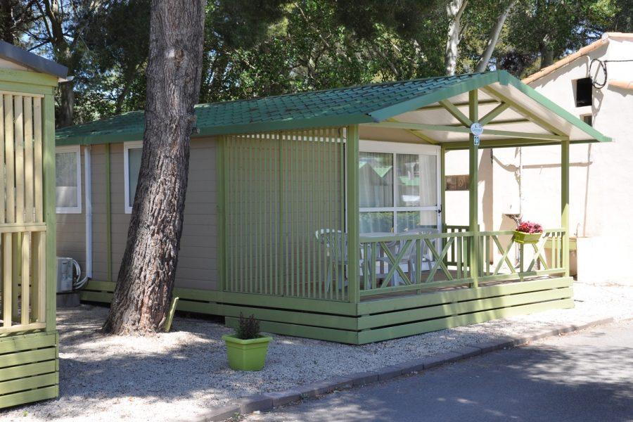 Camping La Source : Descriptif Chalet Type Club Morea 1