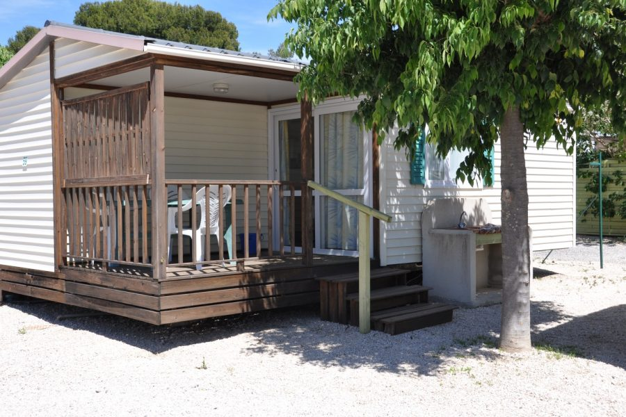 Camping La Source : Descriptif Mobil Home Climatise 2