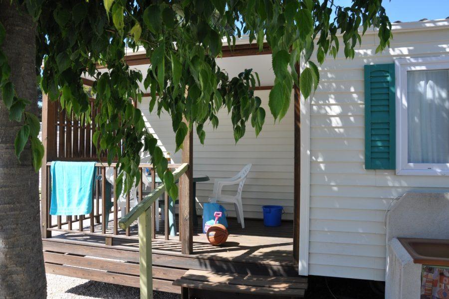 Camping La Source : Descriptif Mobil Home Climatise 9
