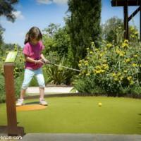 Camping La Source : Sorties En Famille mini golf