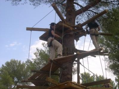 Camping La Source : Sorties En Famille accrobranche